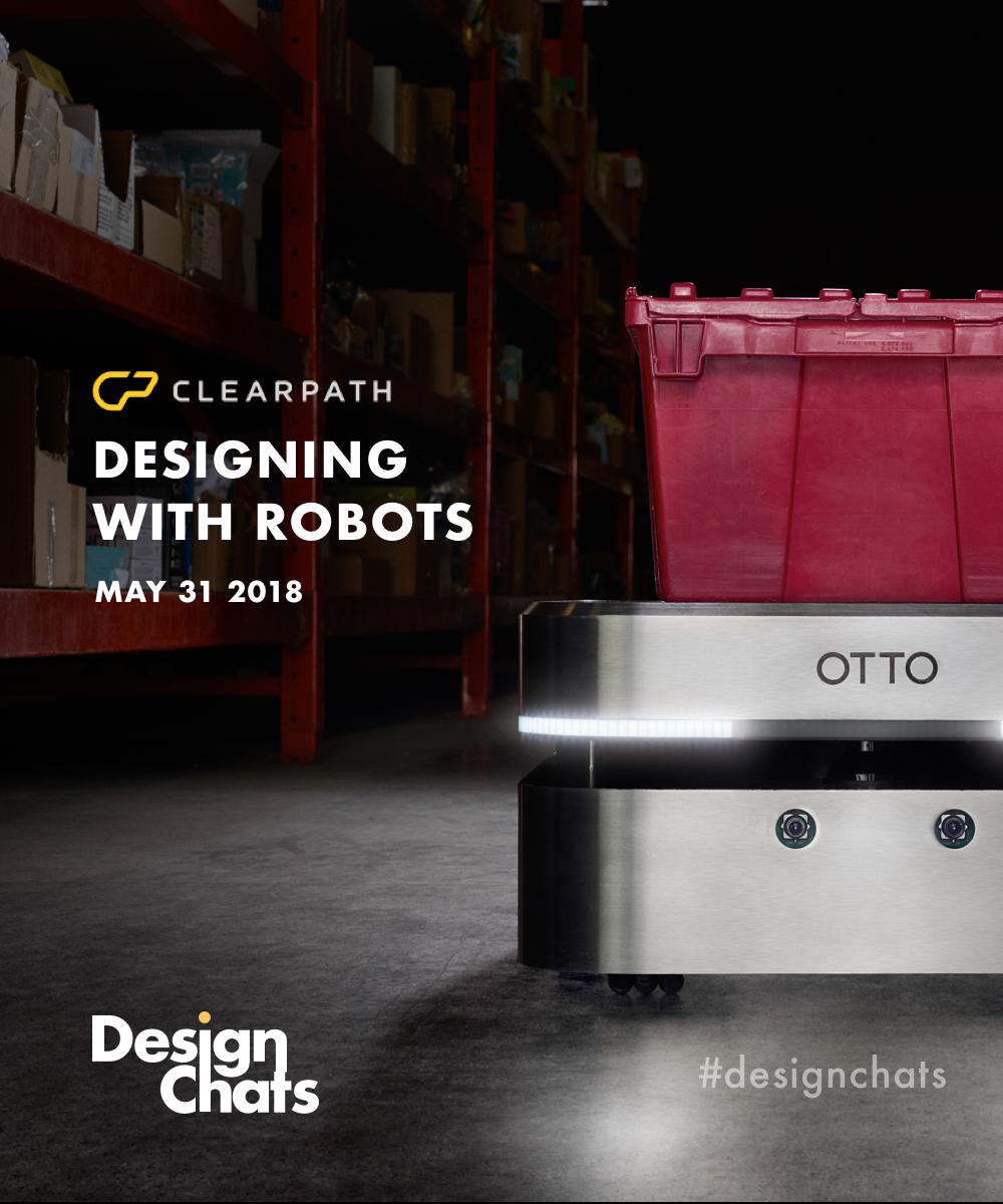DesignChats May Event: Designing for Robotics